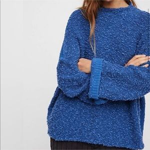 Free People Cuddle Up fuzzy sweater medium
